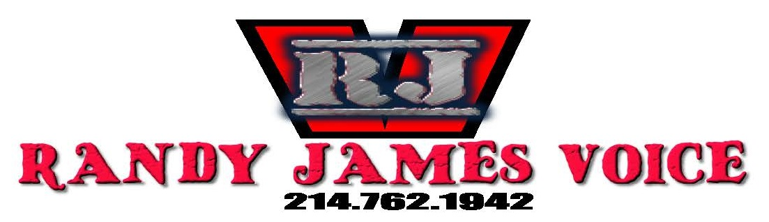 Logo-Randy James Voice Over